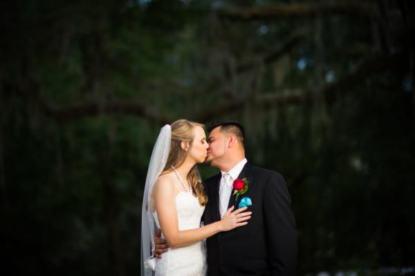 reuben bride kiss