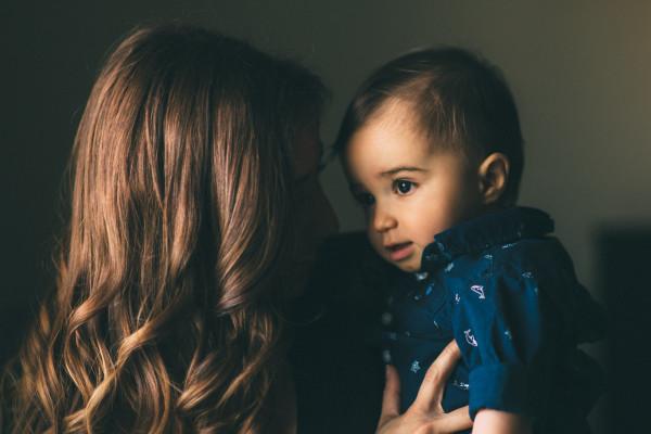 soto cristina holds baby